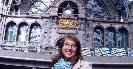 "Dominika Vidovicova (Charles University of Prague, Czech Republic) ""A year spent in Antwerp was the best decision in my life"""