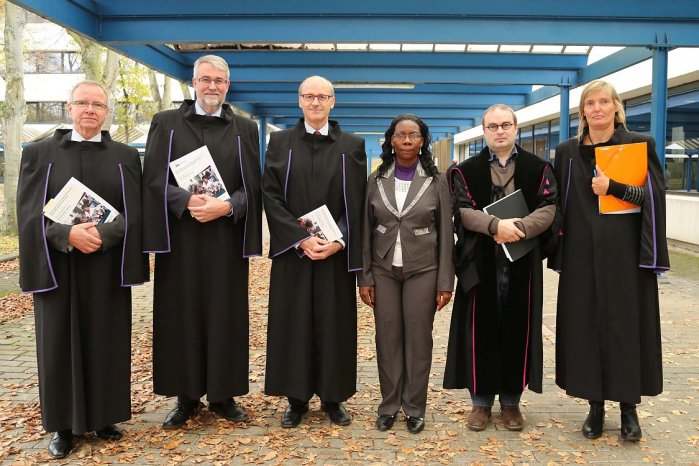 PhD defence 19/11/2014 at the university of Antwerp